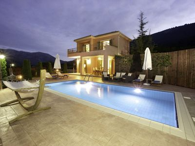 Photo for Stunning modern two-bedroom villa with private pool and lovely gardens