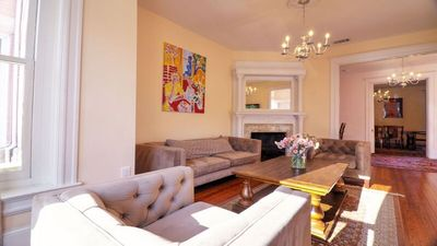 Photo for ECLECTIC MODERN LARGE DUPONT CIRCLE BROWNSTONE