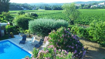 Photo for Gite with pool access, air-conditioned, for 4 people, children welcome.