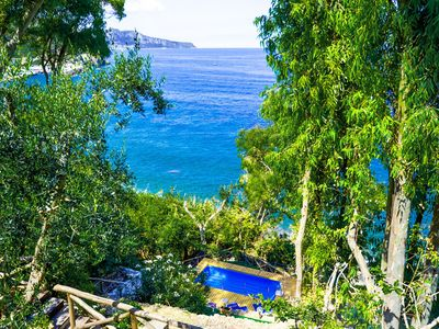 Photo for Villa Ofelia with Private Pool, Garden and Direct Access to the Sea