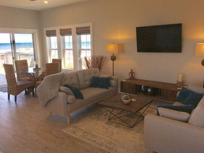 Photo for NEW LISTING: OCEANFRONT PENTHOUSE 2BR,2BA w/POOL!  Incredible Beach Property 💙!