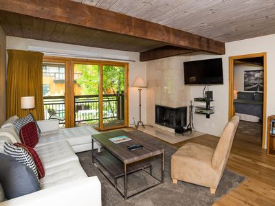 Photo for Recently remodeled top floor mountainside two-bedroom