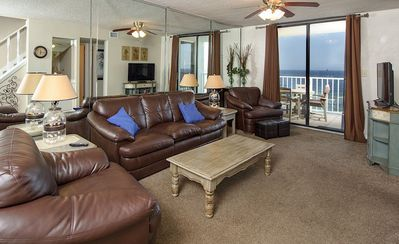 Photo for 807PH  SUNSWEPT 3 BR/ 3 BATH** AMAZING VIEW*DIRECTLY ON THE BEACH
