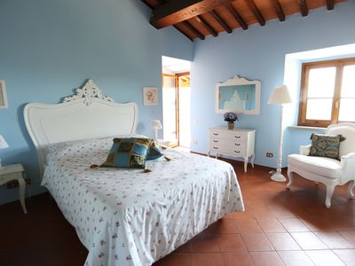 Photo for Private Villa on surrounding Florentine hills