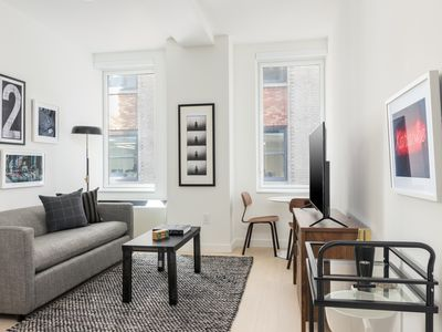 Photo for Sonder | Wall Street | Sunny 1BR + Kitchen