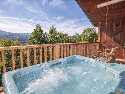 Photo for Love Me Tender, 1 Bedroom, Mountain Views, Hot Tub, Sleeps 2