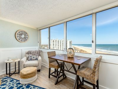 Photo for Completely Renovated! Oceanfront in Mid-Town OC - Pool, Volleyball, Free Wi-Fi!