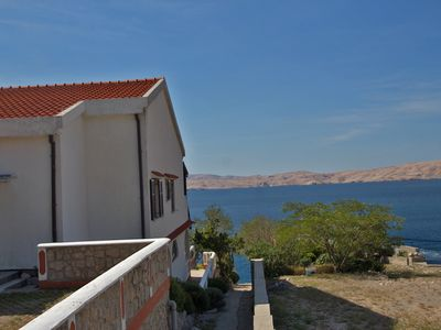 Photo for Apartment on the beach with stunning sea views