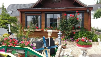 Photo for Pretty wooden house for a romantic and unforgettable stay