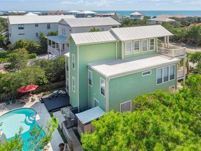 Photo for Seascape - 30A! Seacrest Beach! Gulf View! Private Pool! Steps to the Sand!