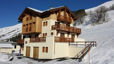 Photo for large spacious cottage on an ideal site for winter sports, summer and relaxation !!