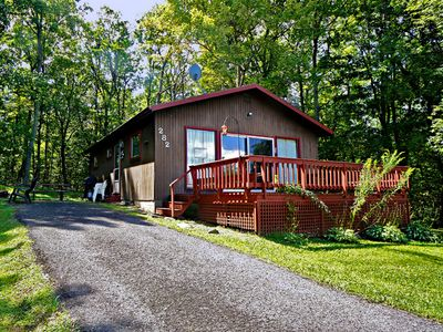 An Original Deep Creek Lake Cabin Close To All Resort Activities With  Firepit