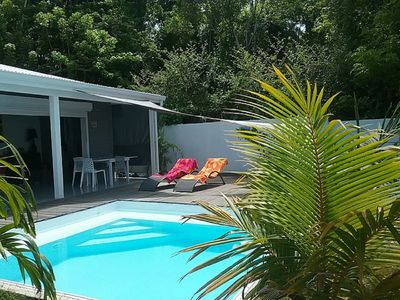 Photo for Charming contemporary T2 with its private swimming pool