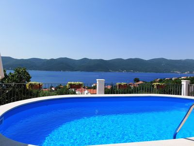 Photo for Villa with  fascinating sea view ,oasis of peace idealf or relaxing ho