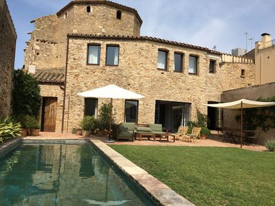 Photo for Village house with garden and pool. Costa Brava