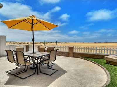 Photo for Beachfront Beauty on the Balboa Peninsula Boardwalk With 2 Parking Spots