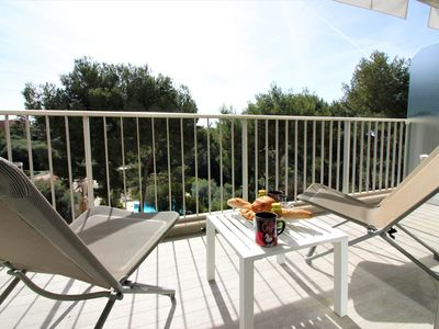 Photo for Beautiful Apartment - Terrace - Pool / Tennis / Gym