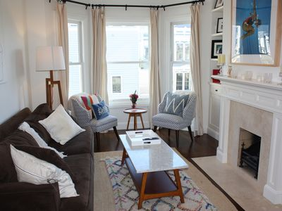 Photo for Elegant 3-bedroom gem in Pacific Heights