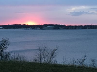 Photo for Beautiful Views of East Lake Okoboji-Lakefront-Ground Level- New & Clean!