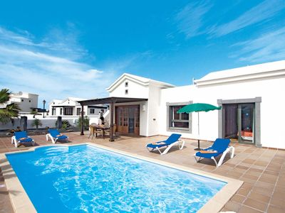 Photo for 2 bedroom Villa, sleeps 4 in Playa Blanca with Pool and WiFi