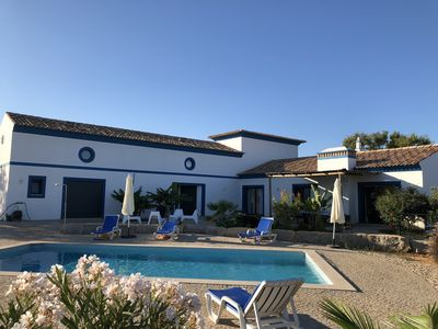 Photo for Wonderful charming villa, Algarve typical design at 1,2 miles from sea side