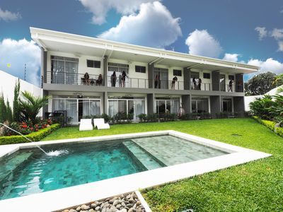 Photo for Modern Home 0.5 mi to Beach, Private Pool, Daily Maid, Bicycles, Surfboards, AC