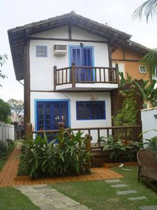 Photo for BEAUTIFUL HOUSE WITH AIR CONDITIONING, POOL AND BARBECUE IN PEREQUÊ - ILHABELA