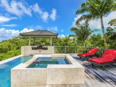 4,000sq ft. Modern Luxury Home w/Amazing Views, A/C & Pool. Laulea Kailani VIlla