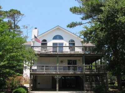 "Photo for Time Out - 5 BR/4BA Beach Home in Corolla Light "" no management fees"""