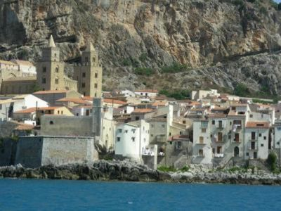 Photo for apartment/ flat sea and mountain view,  center  town Cefalù limited trafic zone.