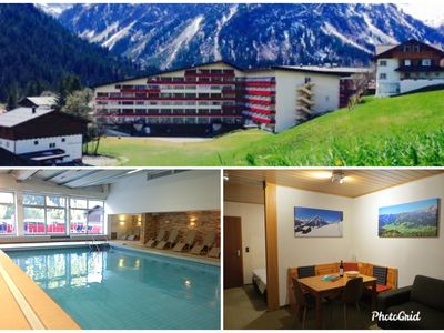 Photo for Cozy 2-4 person apartment; 100 meters from the slopes / lift. Swimming pool and sauna