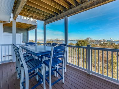 Photo for Brand New! Gorgeous Views of Bay & OC Skyline - 10 Min from Boardwalk!