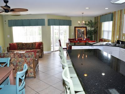 Photo for Incredible 8 Bedroom with 6 full bath. Pool, Jacuzzi and Grill sleeps 22