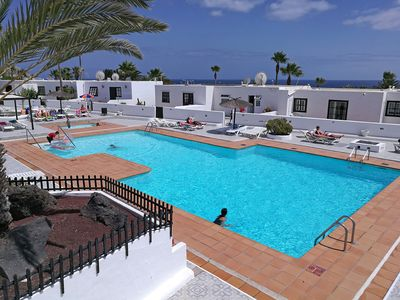 Photo for 2 bedroom Apartment, sleeps 4 in Puerto del Carmen with Pool and Air Con
