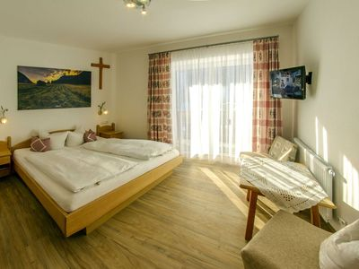 Photo for Double room with balcony - Apartments and Pension Mariandl