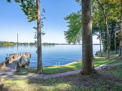 Photo for Book now! Amazing Lake Norman view w/great outdoor seating, perfect for families