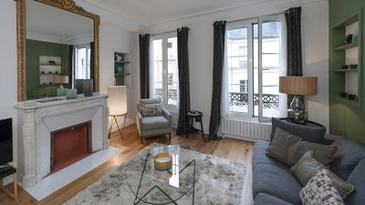 Photo for Modern family apartment for 6 people in Saint-Germain-des-Prés