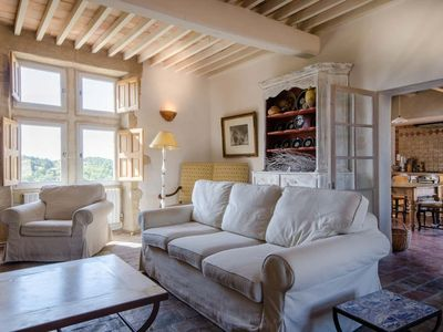 Photo for Grambois Manor – grand, historic, Provence village house