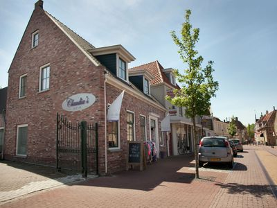Photo for Holiday apartment right in the historical centre of Tholen