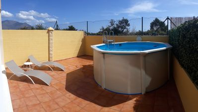 Photo for Homerez last minute deal - Big apt with shared pool and terrace