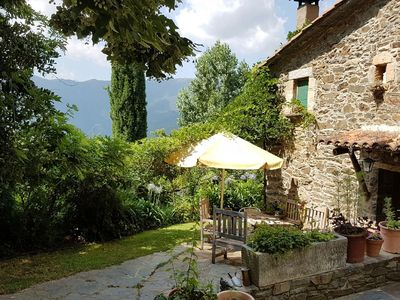 Photo for Authentic country house with swimming pool in nature park Montseny.