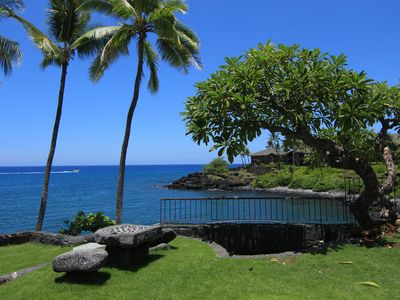 Photo for Ocean front- Nestled between Historic He`eia and Keauhou Bay- Kinohi at He`eia