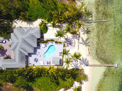Photo for Kai Conut: Island Style Villa in Cayman Kai w/ Private Pool & Dock for Tropical Getaways