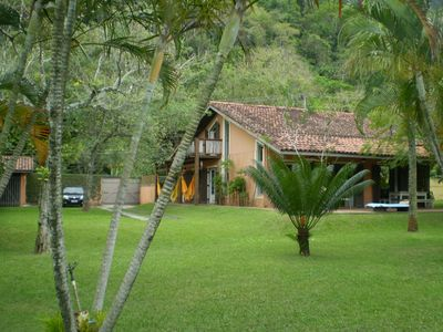 Photo for House in condominium for 8 -14 people 150 m from the beach walking through the garden