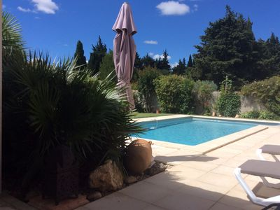 Photo for Villa with pool near St Remy de Provence, in the mouths of the Rhône