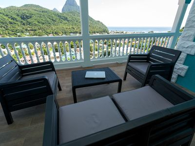 Photo for 2BR Apartment Vacation Rental in Soufriere, Soufriere