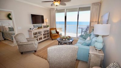 Photo for DIRECT GULF VIEWS, TONS OF AMENITIES, BEAUTIFUL DECOR, INCREDIBLE BEACHES
