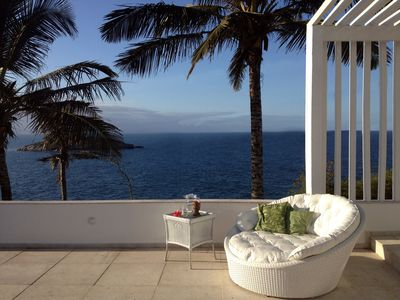 Photo for House with Stunning Ocean View 100 mt. from Joao Fernandinho beach