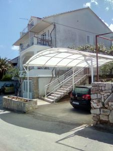 Photo for Studio flat with terrace and sea view Jelsa, Hvar (AS-13513-a)
