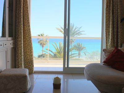Photo for Elegant apartment in the first line of the sea and the beach of Cala Millor